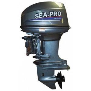 Двухтактный лодочный мотор Sea-Pro Т 40JS&E (Водометный)